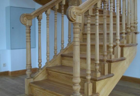 schody z drewna